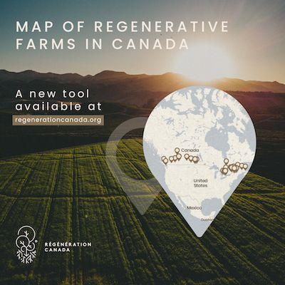 Mapping Regenerative Farming in Canada: A New Multimedia Tool